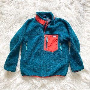 Patagonia kids retro-X fleece jacket